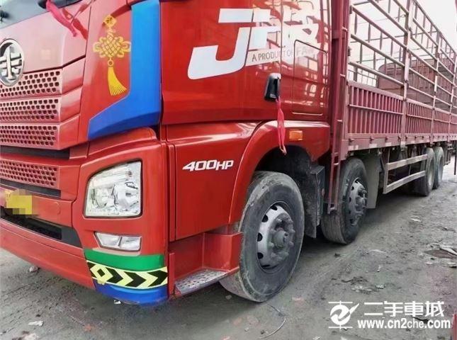 青島解放 JH6 重卡 400馬力 8X4 9.5米載貨車(CA1310P25K2L7T4E5A80)