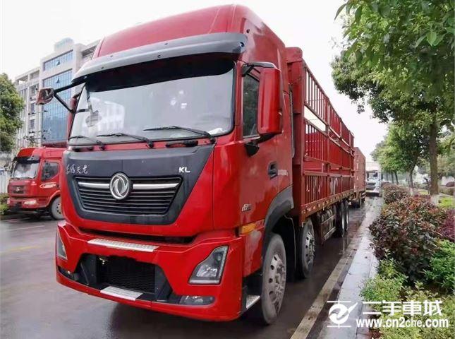 东风 天龙KL   465马力高栏载货车