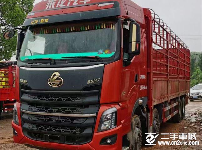 东风柳汽 乘龙 480马力前四后八载货车