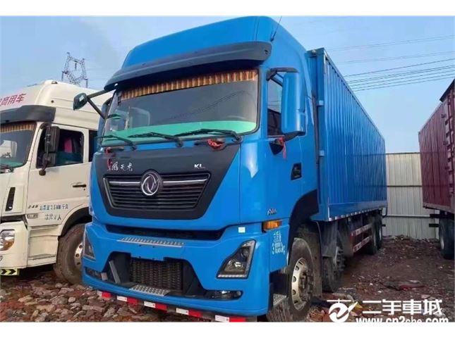 东风 天龙KL 385马力厢式货车