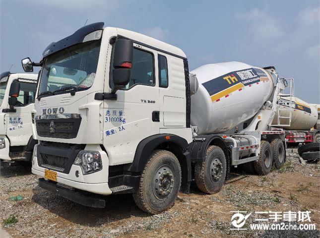 中国重汽 豪沃 20年国五新车14方轻体搅拌罐