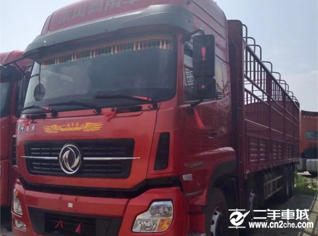 东风 天龙 450马力高栏载货车