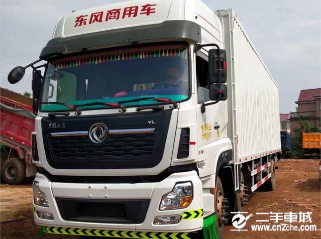 东风 天龙VL 270马力厢式载货车