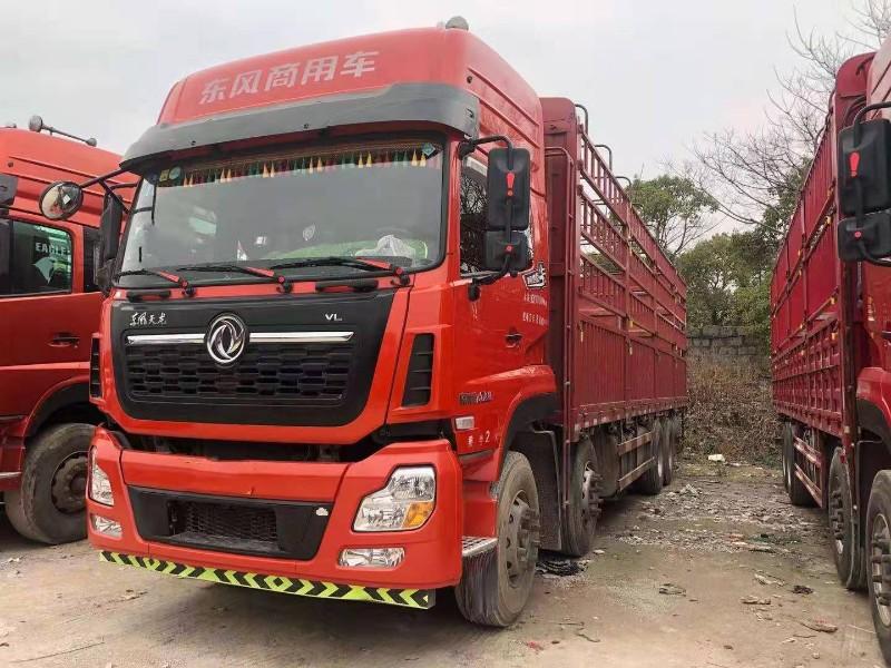 東風 天龍VL 450馬力9.6米前四后八倉欄載貨車