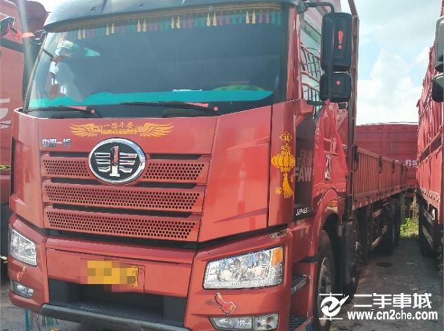 一汽解放 J6P 420九米六平板车