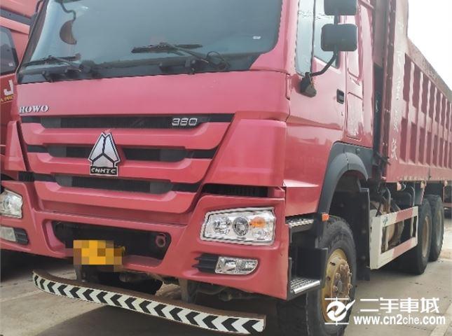 中國重汽 豪沃 380后八輪自卸車