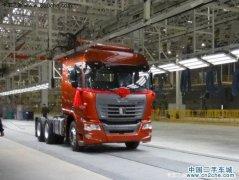 量产化标志 联合卡车首台重卡如期下线